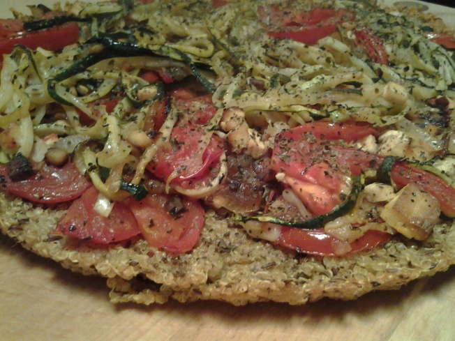 quinoa-pizza mediterran